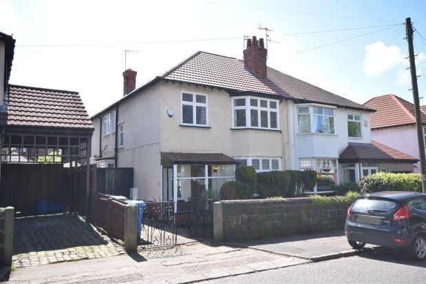 Thumbnail Semi-detached house to rent in Green Lane, Mossley Hill, Liverpool