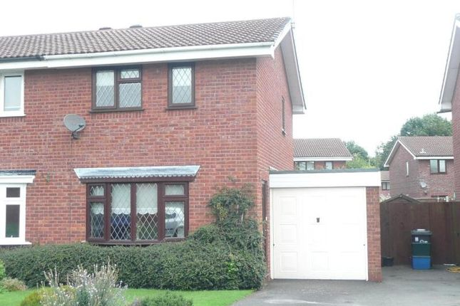 Thumbnail Semi-detached house to rent in St. Andrews Drive, Perton, Wolverhampton