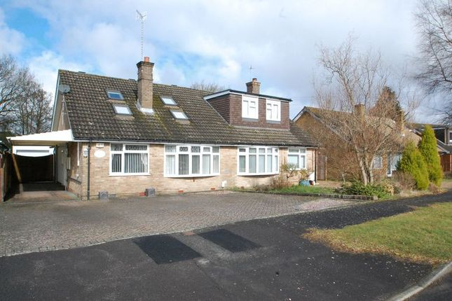Thumbnail Semi-detached bungalow for sale in Rushfield Road, Liss