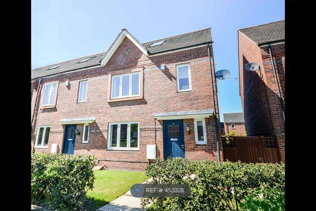 Thumbnail End terrace house to rent in Turnbull Road, West Timperley, Altrincham