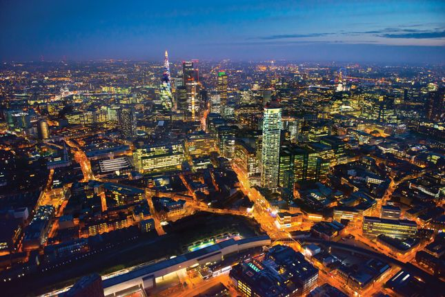 Thumbnail Flat for sale in Principle Tower, Principal Place, London