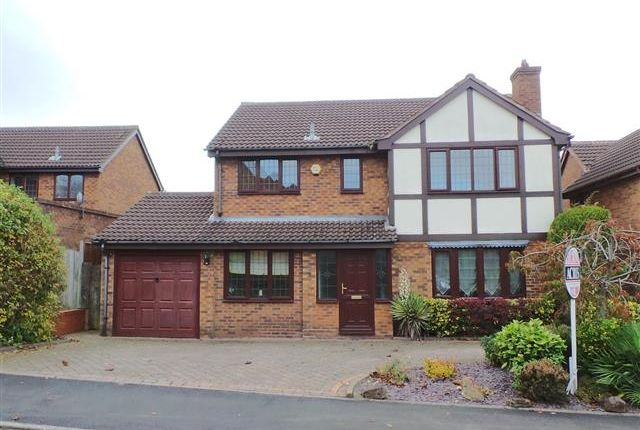 Thumbnail Detached house for sale in Cranmer Grove, Four Oaks, Sutton Coldfield