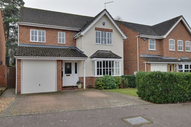 Thumbnail Detached house for sale in Quinn Way, Letchworth, Garden City, Hertfordshire