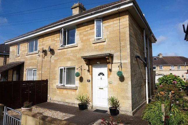 Thumbnail Semi-detached house for sale in Shickle Grove, Bath