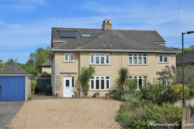 Thumbnail Semi-detached house for sale in Horsecombe Grove, Combe Down, Bath