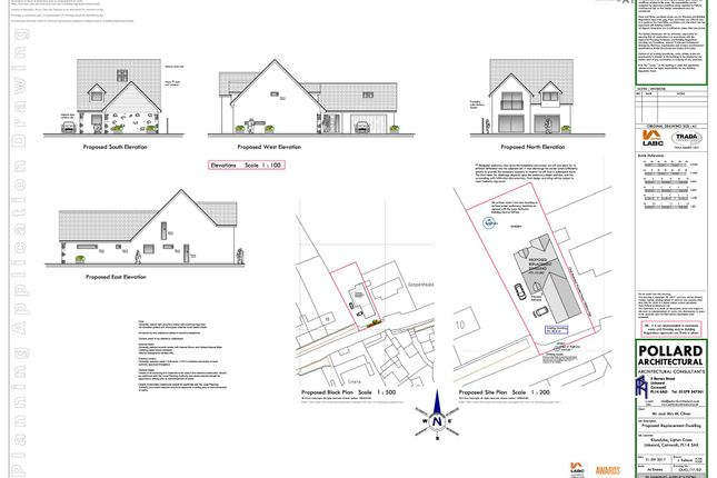 Thumbnail Detached house for sale in Upton Cross, Liskeard