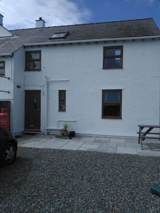 Thumbnail Cottage to rent in Trigfa Estate, Moelfre