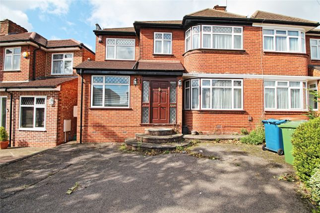 Thumbnail Semi-detached house for sale in Kynance Gardens, Stanmore
