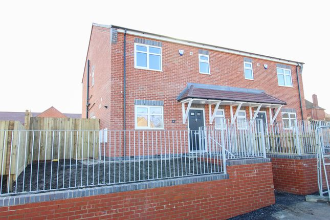 Thumbnail Semi-detached house for sale in Masefield Avenue, Holmewood, Chesterfield