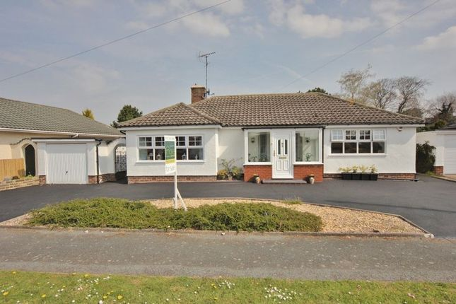 Thumbnail Detached bungalow for sale in The Looms, Parkgate, Cheshire