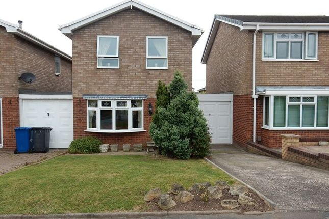 Thumbnail Link-detached house to rent in Briar, Tamworth