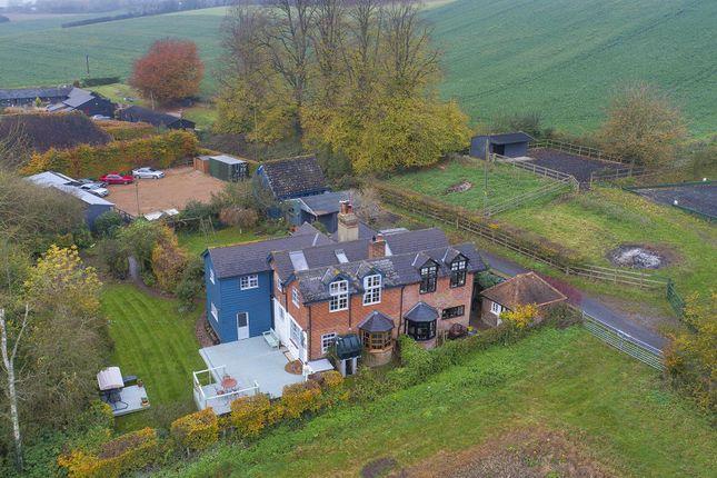 Thumbnail Equestrian property for sale in Rural Village Hastingleigh, Nr Ashford, Kent
