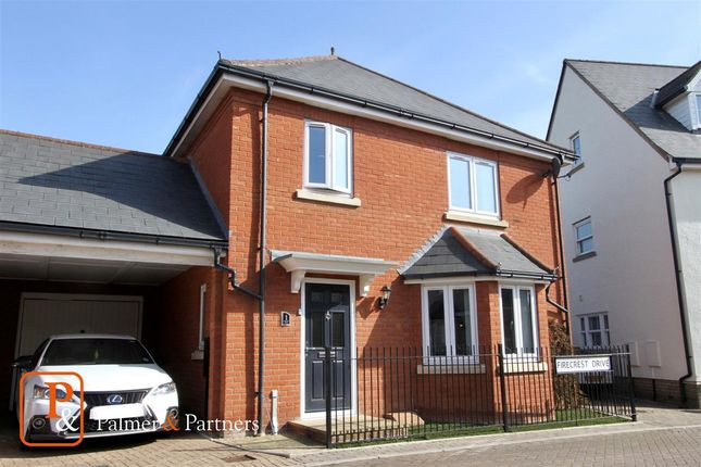 Thumbnail Link-detached house for sale in Firecrest Drive, Stowmarket