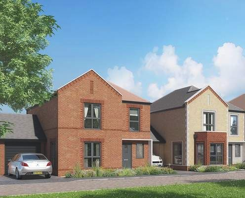 Thumbnail Detached house for sale in Tower View, Kings Hill, Kent