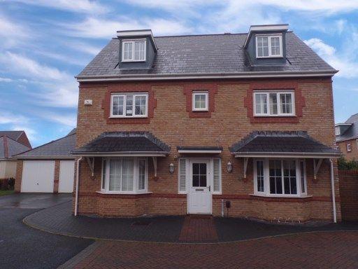 Thumbnail Detached house for sale in Scholars Drive, Caerdydd, Penylan