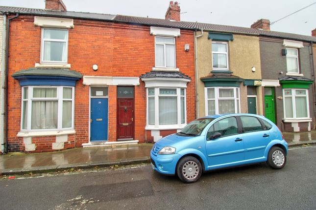 2 bed terraced house for sale in Maria Street, North Ormesby, Middlesbrough TS3
