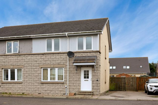 Thumbnail Semi-detached house for sale in Station Place Hatton, Peterhead