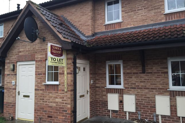 Thumbnail Flat to rent in The Pines, Worksop