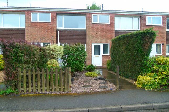 Thumbnail Town house to rent in Croft End, Little Eaton, Derby