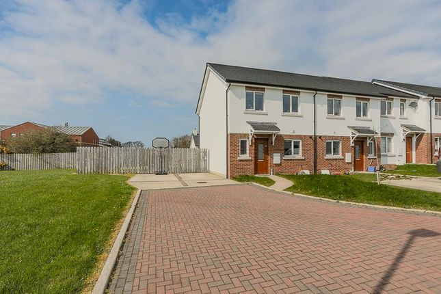 3 bed end terrace house for sale in Scoill Close, Peel, Isle Of Man