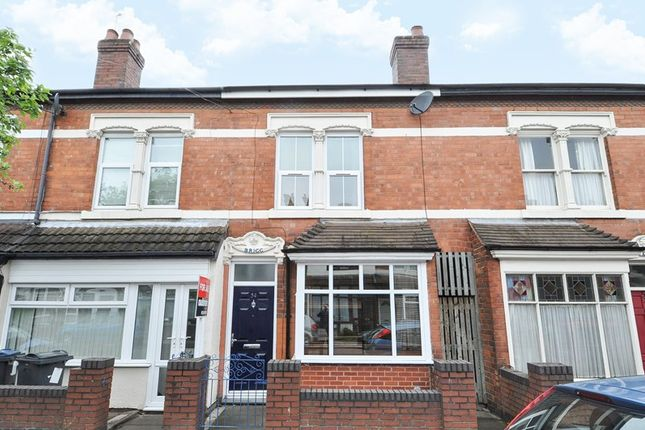 Thumbnail Terraced house for sale in Cecil Road, Selly Park, Birmingham