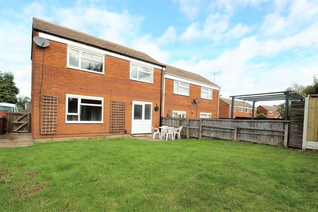 Thumbnail Semi-detached house to rent in Brassington Court, Mansfield Woodhouse, Mansfield