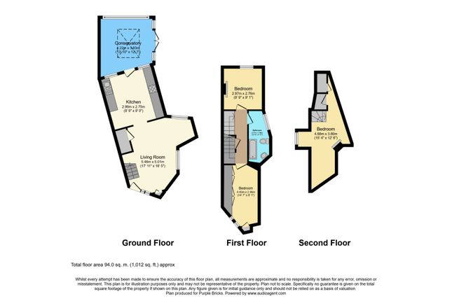 Floor Plan of Forest Road, Loughton IG10
