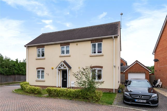 Thumbnail Detached house for sale in Hewers Close, Wanborough, Swindon, Wiltshre