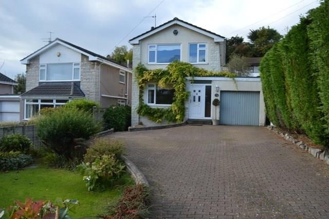 Thumbnail Detached house for sale in Milton Hill, Worlebury, Weston-Super-Mare