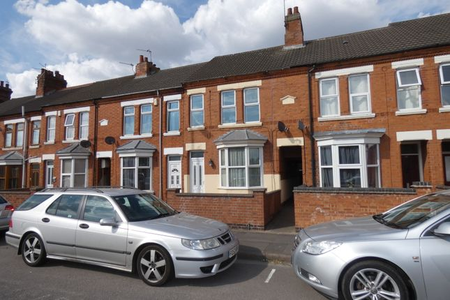 Thumbnail Terraced house for sale in London Road, Coalville