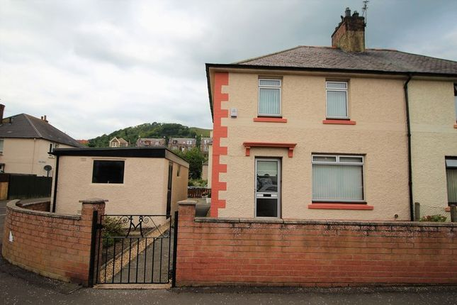 Thumbnail Semi-detached house for sale in Broomhill Avenue, Burntisland