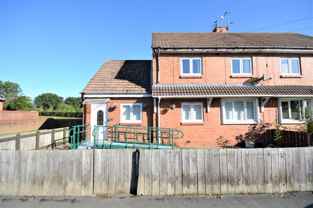 Thumbnail Semi-detached house for sale in Walker Drive, Bishop Auckland