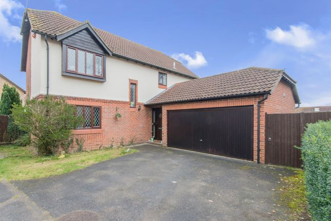 Thumbnail Detached house for sale in Swallow Close, Totton, Southampton