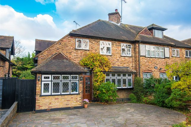 3 bed semi-detached house for sale in Powell Close, Edgware, Middlesex