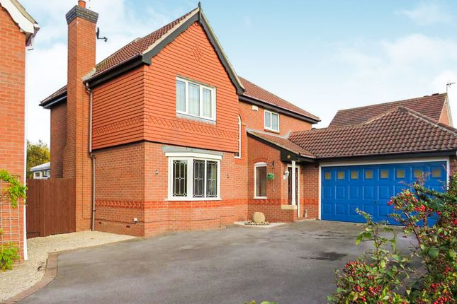 Thumbnail Detached house for sale in Kingsdale Grove, Chellaston, Derby