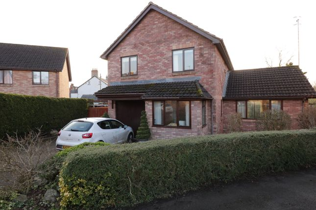 Thumbnail Detached house for sale in Castle Wood, Usk