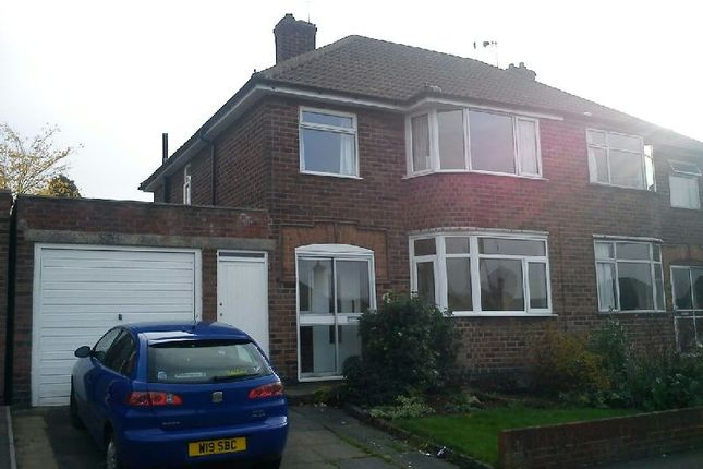 Thumbnail Semi-detached house to rent in Crowhurst Drive, Braunstone, Leicester
