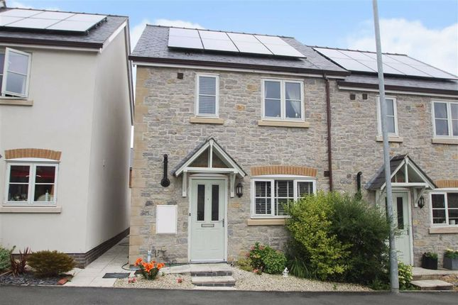 Thumbnail Semi-detached house for sale in Cae Vyrnwy, Llansantffraid