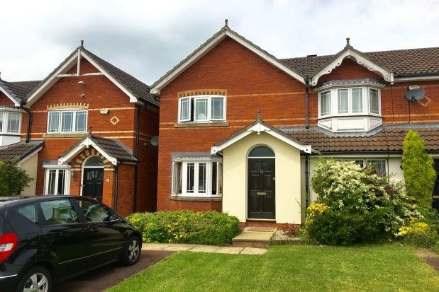 Thumbnail Detached house to rent in Alveston Drive, Wilmslow