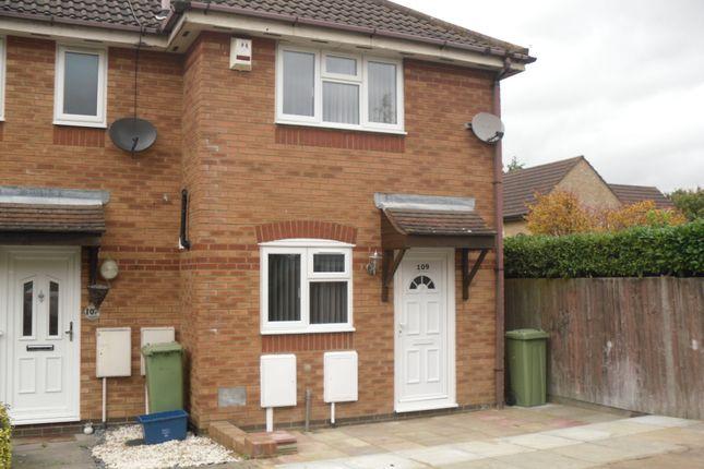 Thumbnail End terrace house to rent in Underwood Place, Oldbrook, Milton Keynes