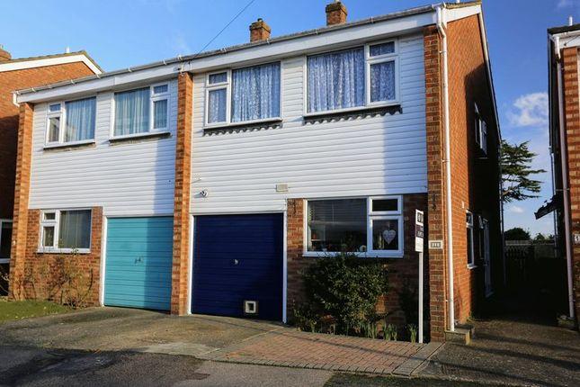 Thumbnail Semi-detached house for sale in Oak End Close, Southborough, Tunbridge Wells