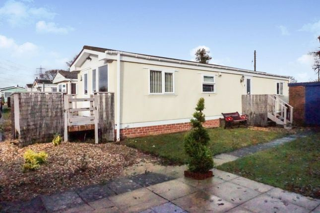 Thumbnail Mobile/park home for sale in Little Holbury Caravans, Southampton