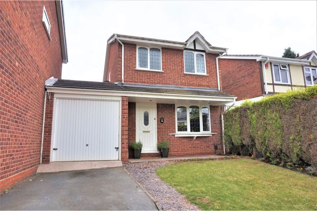 Thumbnail Detached house for sale in Cheviot, Tamworth