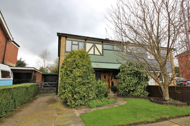 Thumbnail Semi-detached house for sale in The Finches, Benfleet