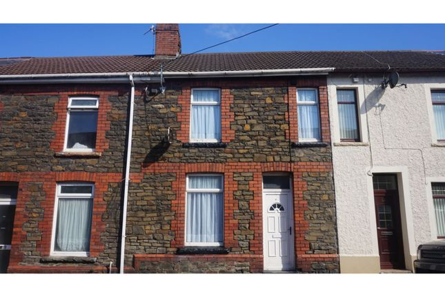 Thumbnail Terraced house for sale in Cross Street, Resolven