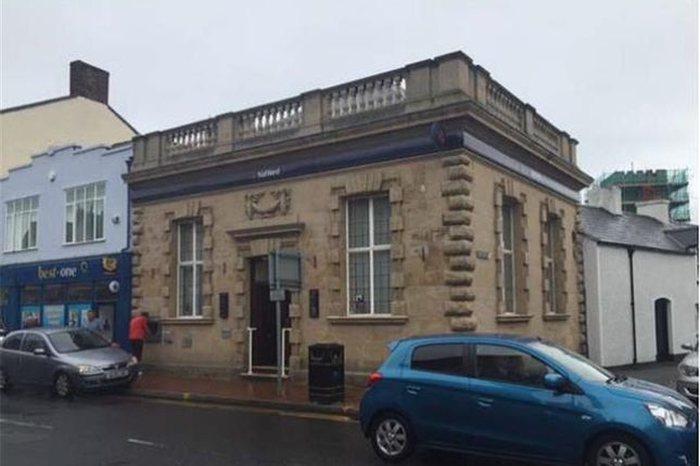 Thumbnail Commercial property for sale in Former Bank, Market Street, Abergele, Conwy