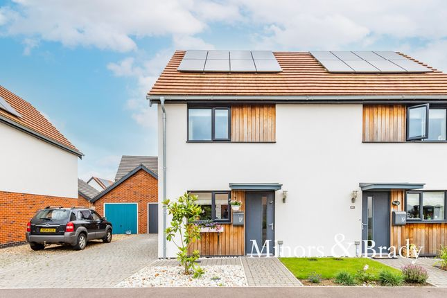 2 bed semi-detached house for sale in Hopsack Road, Hingham, Norwich NR9