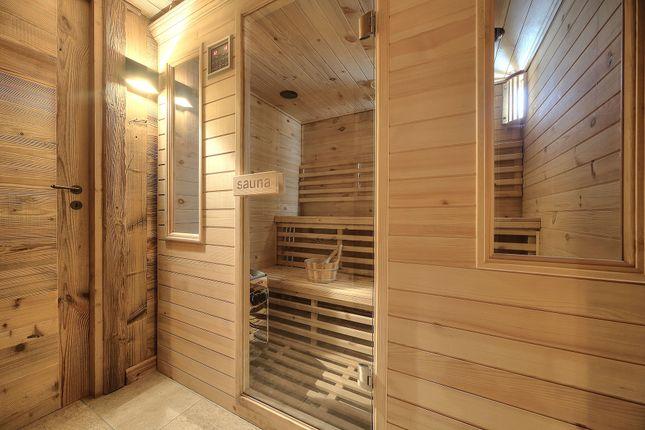 Sauna of Megeve, Rhones Alps, France