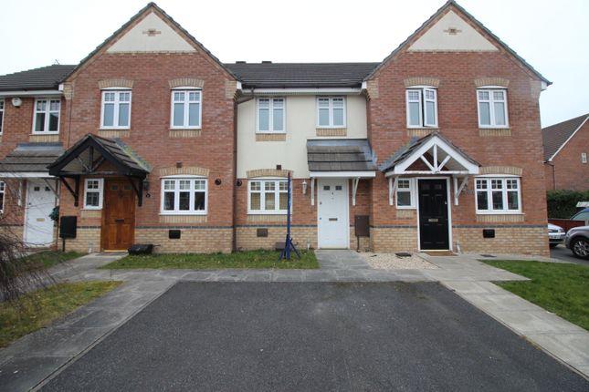 Thumbnail Town house to rent in Stuart Close, Platt Bridge, Wigan