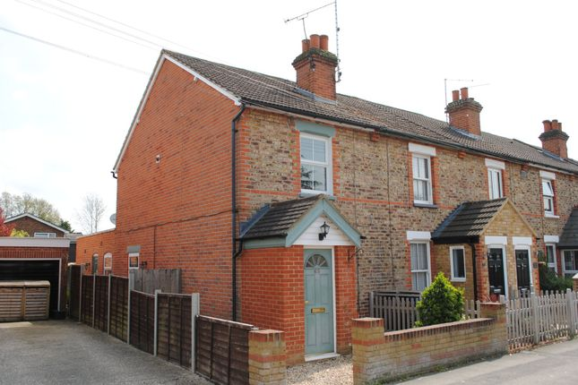 Thumbnail End terrace house to rent in Connaught Road, Fleet, Hampshire